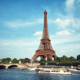The Eiffel Tower, Paris - France Royalty Free Stock Images