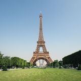 The Eiffel Tower, Paris - France Royalty Free Stock Photography