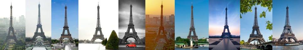 Eiffel Tower in Paris - France stock photos