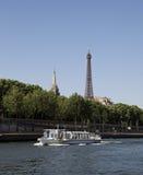 Eiffel Tower, Paris, France. The Eiffel Tower (French: La Tour Eiffel Royalty Free Stock Image