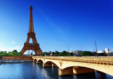 Eiffel tower, Paris. France Royalty Free Stock Image