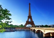 Eiffel tower, Paris. France Stock Images