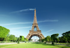 Eiffel tower, Paris. France. Royalty Free Stock Photo