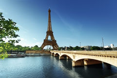 Eiffel tower, Paris. France Stock Image
