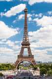 The Eiffel Tower in Paris France Stock Photography