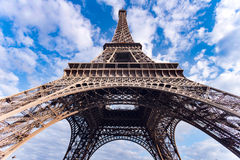 Eiffel Tower. In Paris France stock photography