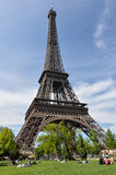 The Eiffel Tower, Paris, France.  Royalty Free Stock Photos
