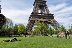 The Eiffel Tower, Paris, France.  Stock Images