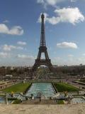 The Eiffel Tower, Paris, France.  Stock Photos