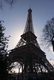 Eiffel Tower. In Paris France Stock Photos