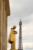 Eiffel tower, Paris. Royalty Free Stock Photo