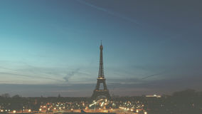 Eiffel Tower Paris France Stock Photo
