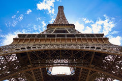 Eiffel tower in Paris France Stock Image