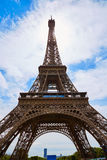 Eiffel tower in Paris France Royalty Free Stock Photo
