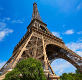 Eiffel tower in Paris France Stock Photography