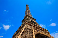 Eiffel tower in Paris France Royalty Free Stock Photos