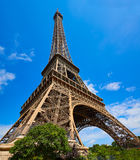 Eiffel tower in Paris France Stock Photos