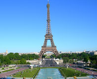 Eiffel Tower in Paris France royalty free stock image