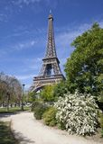 Eiffel Tower, Paris. France, April 2014 Stock Images
