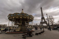 Eiffel Tower - Paris - France Royalty Free Stock Images