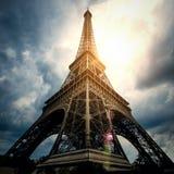 Eiffel tower - Paris / France Stock Photo