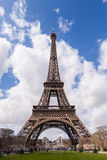 Eiffel Tower in Paris France, Famous Tourism Landmark Royalty Free Stock Image