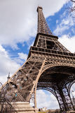 Eiffel Tower in Paris France, Famous Tourism Landmark Stock Image