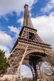 Eiffel Tower in Paris France, Famous Tourism Landmark. Eiffel Tower, Tour Eiffel in Paris France, Famous Tourism Landmark Royalty Free Stock Image