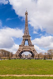 Eiffel Tower in Paris France, Famous Tourism Landmark Royalty Free Stock Images