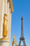 Eiffel Tower in Paris, France 4 Royalty Free Stock Photography