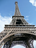 Eiffel Tower, Paris, France. Eiffel Tower, ground view, Paris, France royalty free stock photos