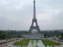 The Eiffel Tower, Paris, France. The Eiffel Tower or La Tour Eiffel is the most famous landmark in Paris, the most iconic symbol and one of the leading tourist Stock Images