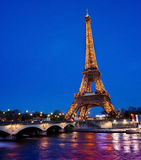 Eiffel Tower in Paris, France Royalty Free Stock Image