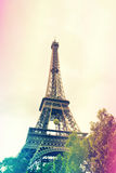 Eiffel Tower 2014. Eiffel Tower in Paris, France, May 2014 stock photography