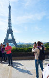 Eiffel Tower. Royalty Free Stock Images