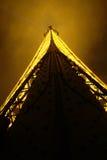 Eiffel Tower, Paris, France. Photo taken at night Stock Photo