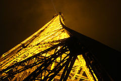 Eiffel Tower, Paris, France. Photo taken at night Stock Photography
