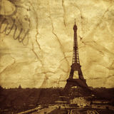 The Eiffel Tower in Paris, France Royalty Free Stock Photos