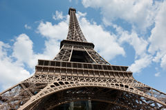 Eiffel Tower in Paris. France Stock Images