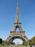 Eiffel Tower in Paris - France. Eiffel Tower in Paris on a sunny day Royalty Free Stock Images