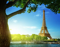 Eiffel tower, Paris. France Stock Photography