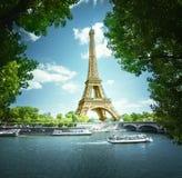 Eiffel tower, Paris. France Royalty Free Stock Photos
