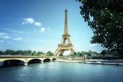 Eiffel tower, Paris. France Stock Image