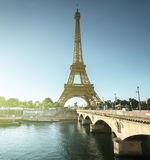Eiffel tower, Paris. France Stock Images