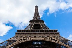 The eiffel tower in Paris - France Royalty Free Stock Photography