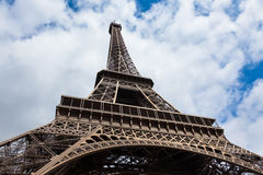 The eiffel tower in Paris - France Stock Image