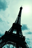 The Eiffel Tower in Paris, France Royalty Free Stock Images