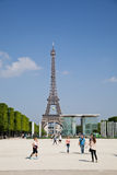 The Eiffel Tower in Paris, France Stock Photos