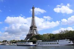 Eiffel Tower , Paris, France royalty free stock photography