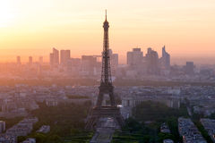 Eiffel tower, Paris, France Stock Photography